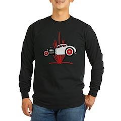 STRIPES Long Sleeve Dark T-Shirt