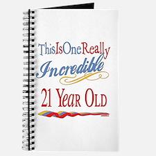 Incredible At 21 Journal