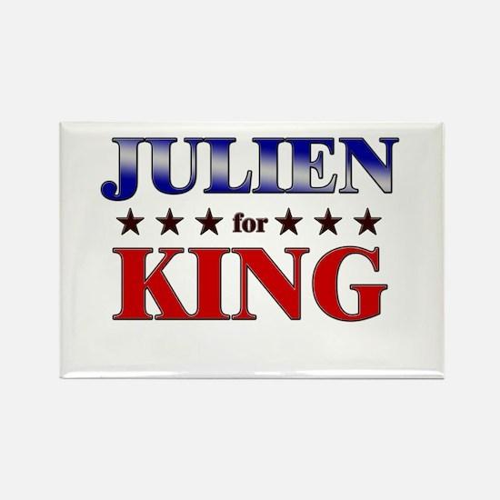 JULIEN for king Rectangle Magnet