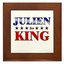 JULIEN for king Framed Tile