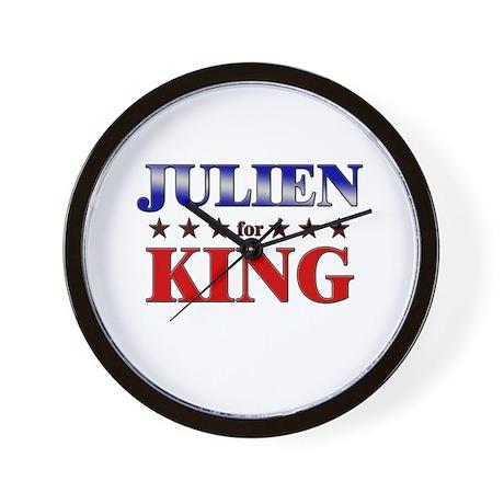 JULIEN for king Wall Clock