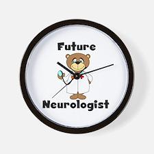 Future Neurologist Wall Clock