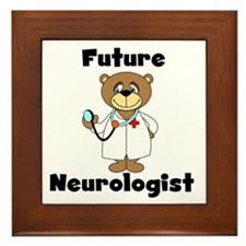 Future Neurologist Framed Tile