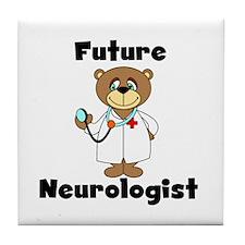 Future Neurologist Tile Coaster