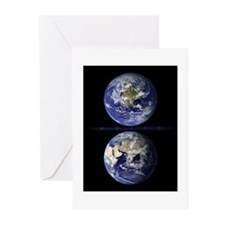 The Earth from Space Greeting Cards (20 pack)