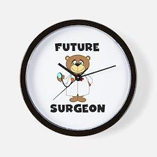 Future Surgeon Wall Clock