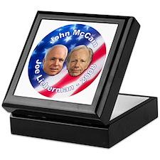 McCain Lieberman Keepsake Box