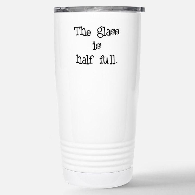 Cute Half Travel Mug