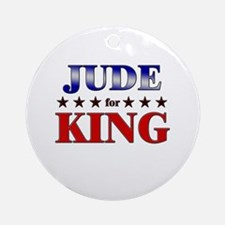 JUDE for king Ornament (Round)