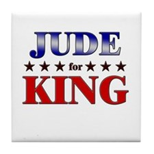 JUDE for king Tile Coaster