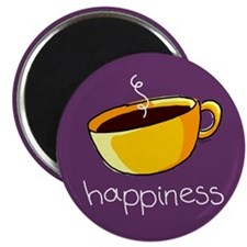 Happiness is Coffee Magnet