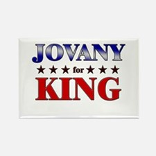 JOVANY for king Rectangle Magnet