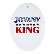 JOVANY for king Oval Ornament