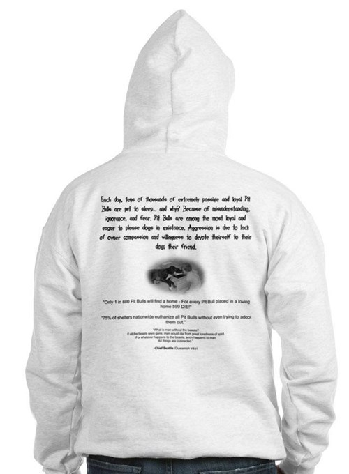 Pitbull Facts Hoodie