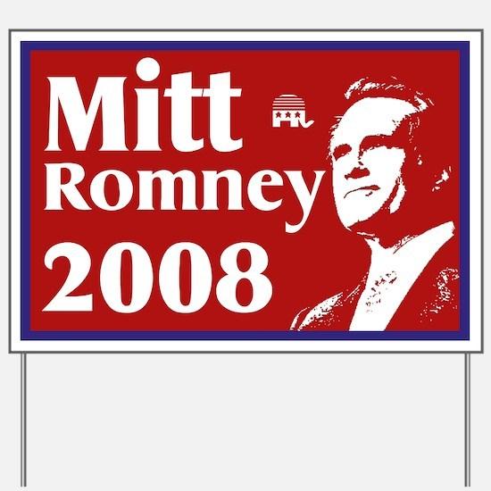 Mitt Romney Yard Sign