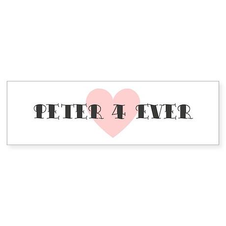 Peter 4 ever Bumper Sticker