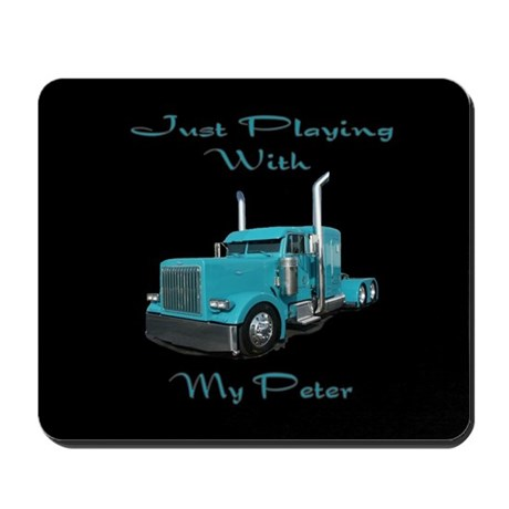 Playing With My Peter Mousepad