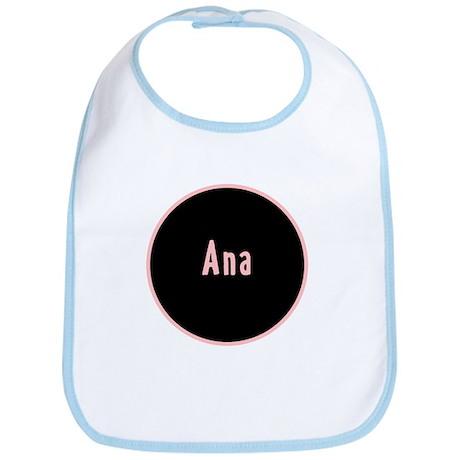 Ana - Pink Circle Bib