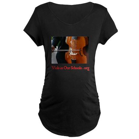 Viols in Our Schools Maternity Dark T-Shirt