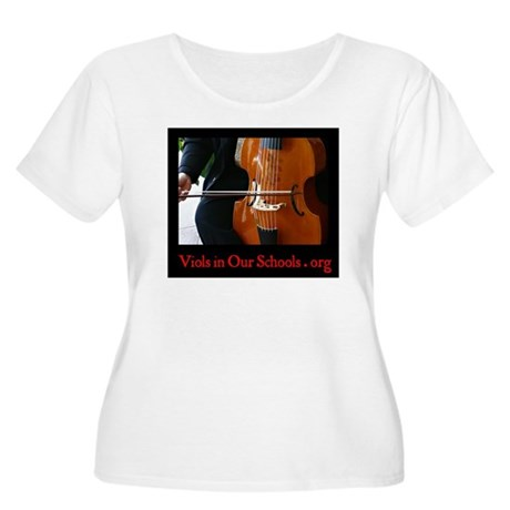 Viols in Our Schools Women's +Size T-Shirt