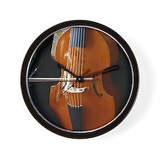 Viols in Our Schools Viola da Gamba Wall Clock