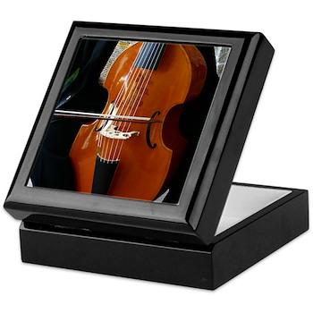 Viols in Our Schools Viola da Gamba Keepsake Box