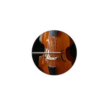 Viols in Our Schools Viola da Gamba Mini Button