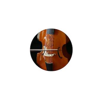 Viols in Our Schools Viola da Gamba Mini Buttons