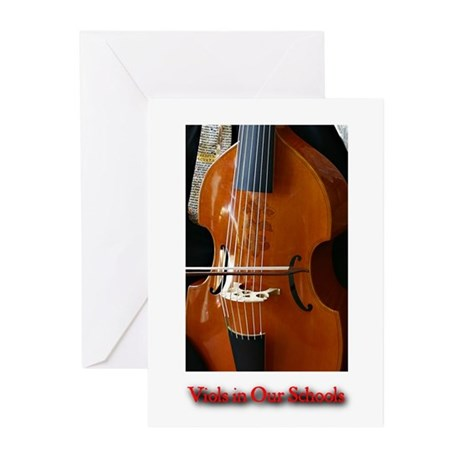 Viols in Our Schools Greeting Cards (Pk of 20)