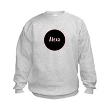 Alexa - Pink Circle Sweatshirt