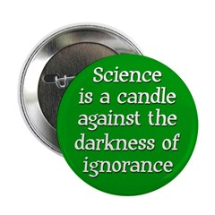 The Candle of Science Button