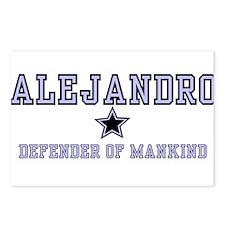 Alejandro - Name Team Postcards (Package of 8)