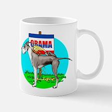 Mantle Dane Pi$$ on Obama Mug