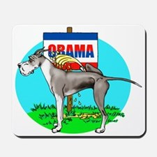 Mantle Dane Pi$$ on Obama Mousepad