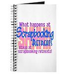 Scrapbooking Retreats Shhh! Journal
