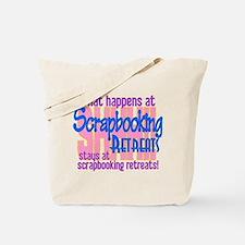Scrapbooking Retreats Shhh! Tote Bag