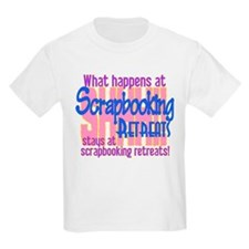 Scrapbooking Retreats Shhh! T-Shirt
