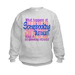 Scrapbooking Retreats Shhh! Kids Sweatshirt