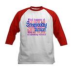Scrapbooking Retreats Shhh! Kids Baseball Jersey