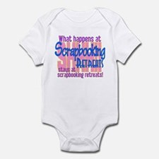 Scrapbooking Retreats Shhh! Infant Bodysuit