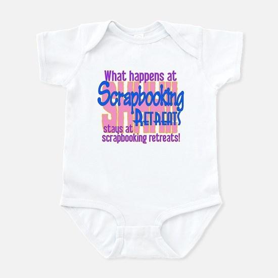 Scrapbooking Retreats Shhh! Infant Bodysuit