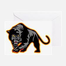 Black Panther Greeting Card