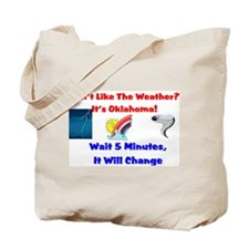 Cute Weather change Tote Bag