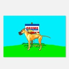 Fawn Dane Pi$$ on Obama Postcards (Package of 8)