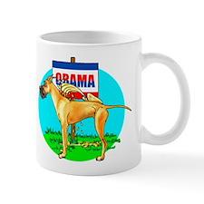 Fawn Dane Pi$$ on Obama Mug