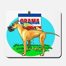 Fawn Dane Pi$$ on Obama Mousepad