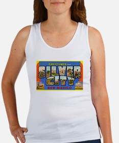 Silver City New Mexico Greetings (Front) Women's T