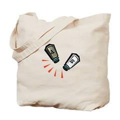 Salt & Pepper Tote Bag
