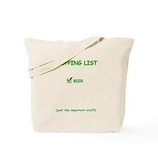 List - Beer Tote Bag