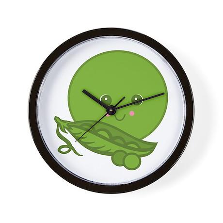 Sweet Little Pea Wall Clock